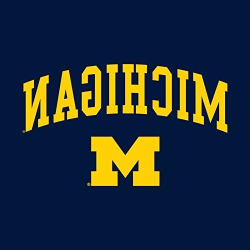 Michigan Wolverines Logo Hoodie - Navy