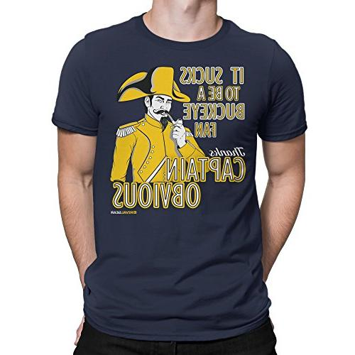 michigan wolverines fan t shirt captain obvious