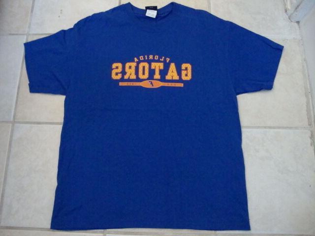 NCAA Gators University Blue Shirt L