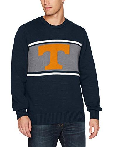 23c4bc47 NCAA Tennessee Volunteers Men's Ots Pullover Sweater, X-Large, Fall Navy