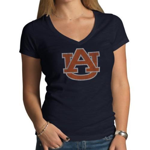 NCAA Texas Women's V-Neck Tee,