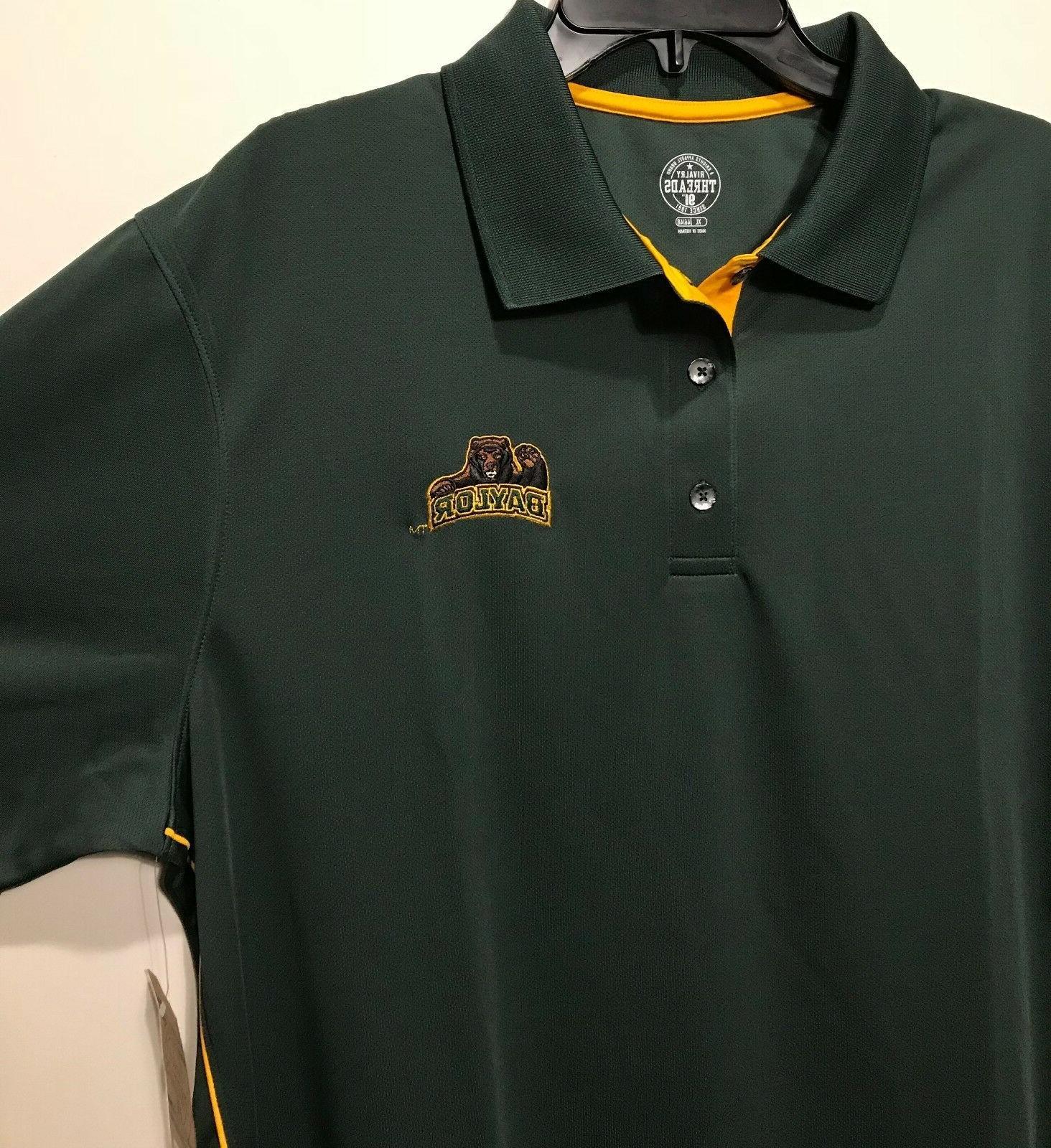 New $30 Bears Polo Shirt Embroidered Logo