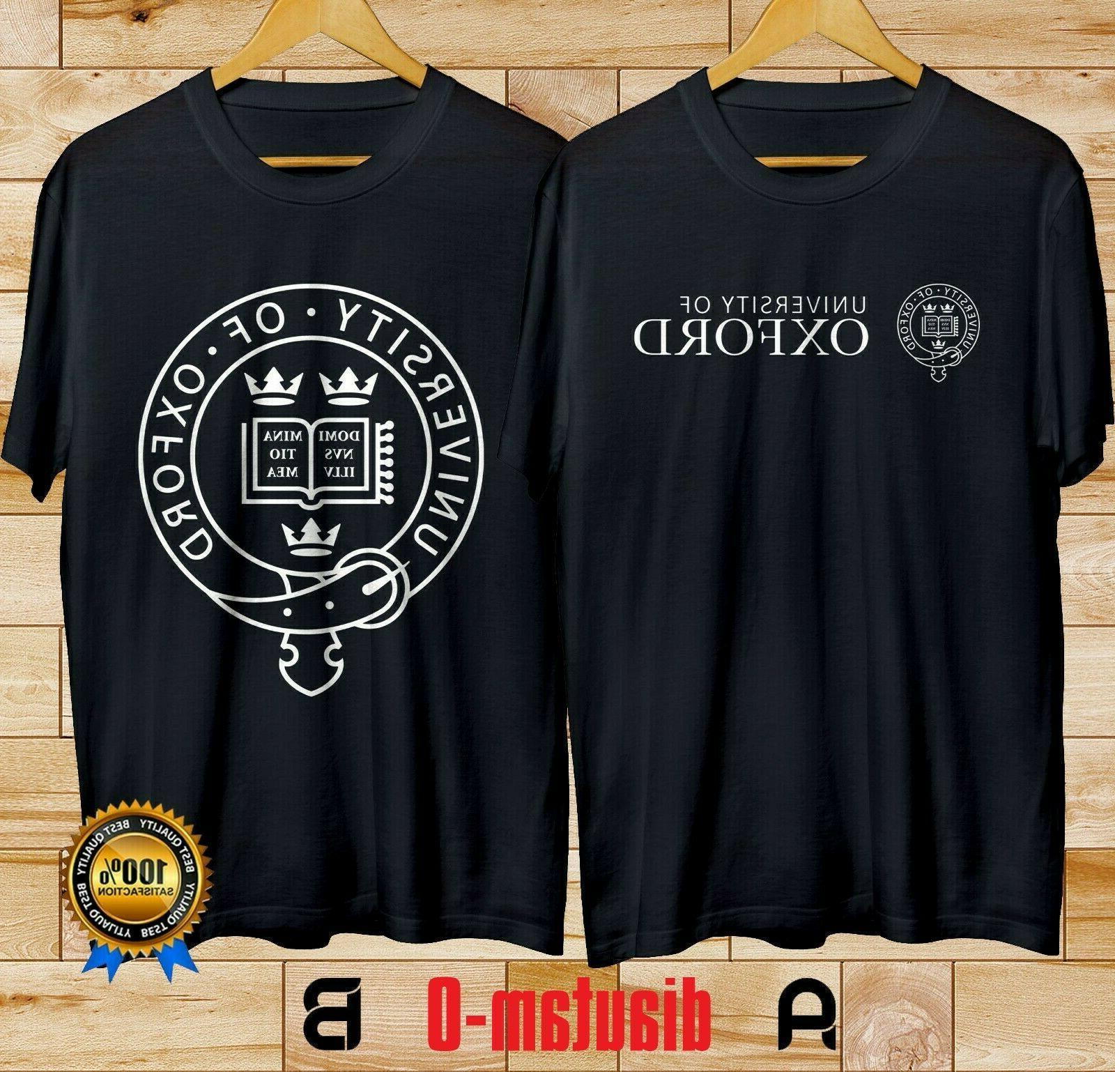 new oxford university england clothing black t