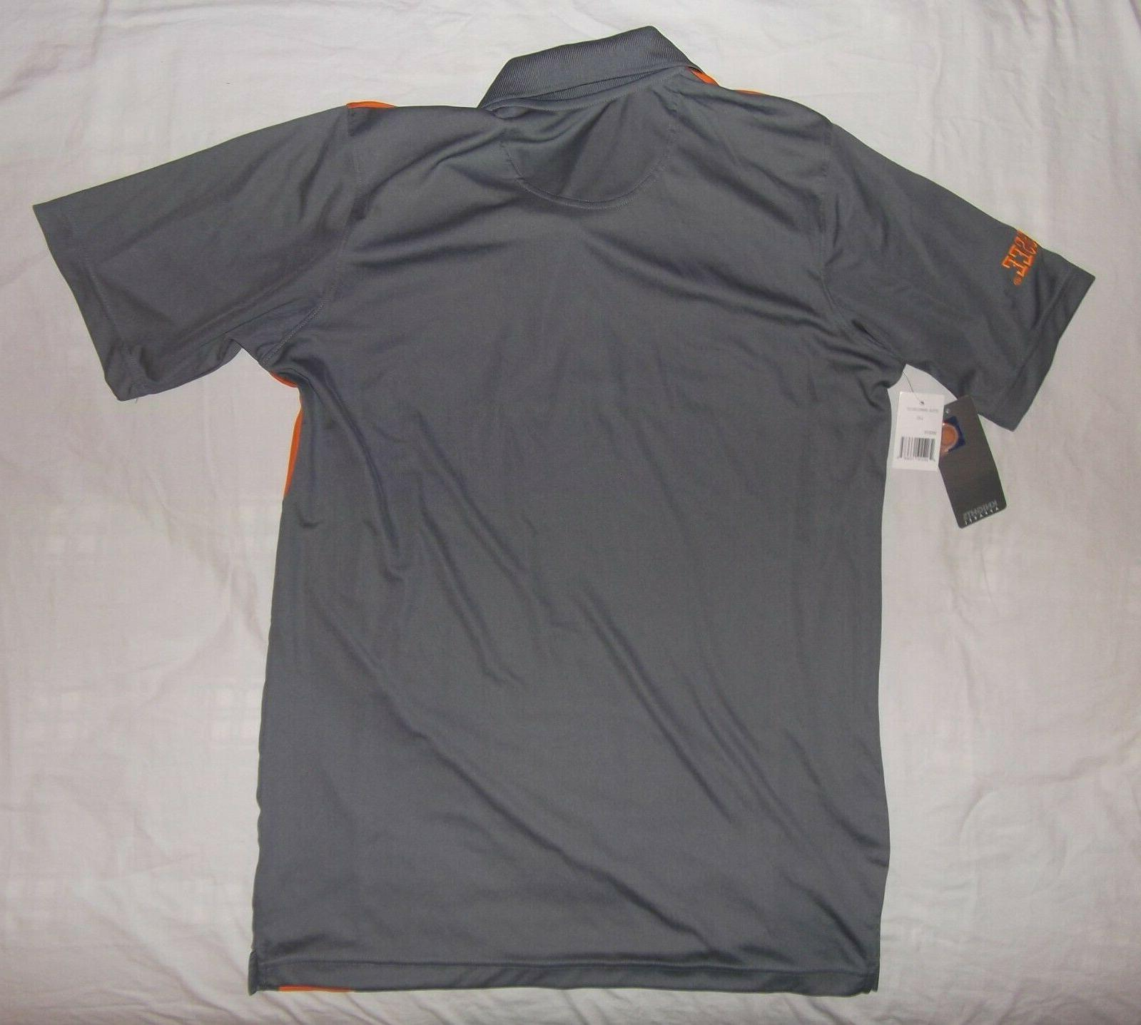 New University Tennessee Knights Apparel UT shirt gray