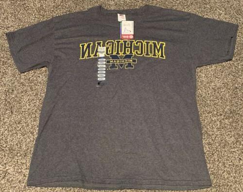 nwt university of michigan mens tee shirt
