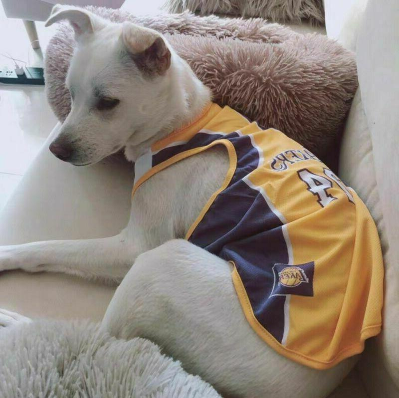 Pet Basketball Custome Fan Clothing