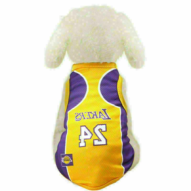 Pet T shirt Basketball Jersey Custome Vest Clothing