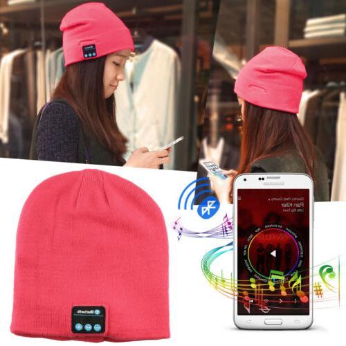 Headset Mic Wireless Bluetooth Cap