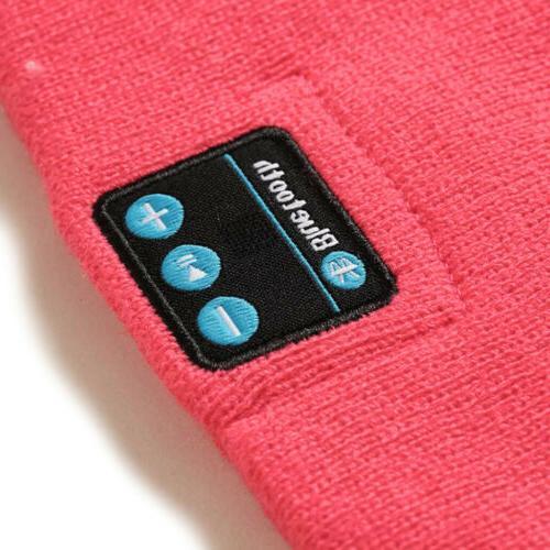 Soft Hat Warm Headset Wireless Bluetooth