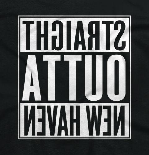 Straight Outta CT City Movie T Shirts Gift V-Neck T-Shirt