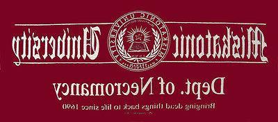 t shirt miskatonic university apparel necromancy cthulhu