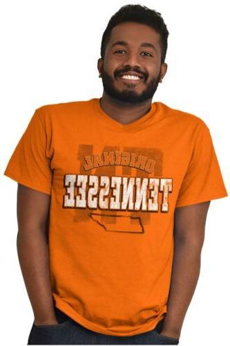 Tennessee College Sleeve Tees Tshirts