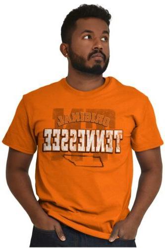 Tennessee University Football College Short Sleeve T-Shirt Tees Tshirts