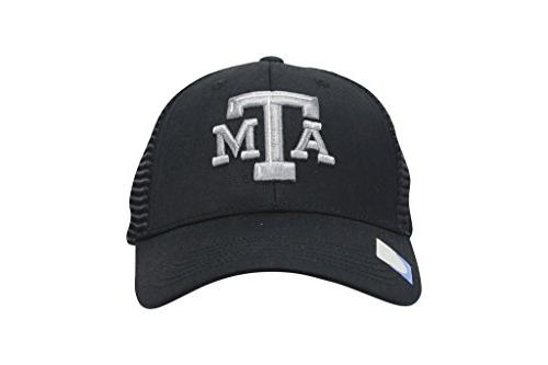 texas a and m aggies embroidered black