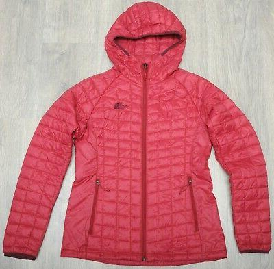 thermoball sport hoodie juicy red insulated women