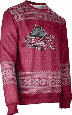 ProSphere Unisex Rider University Ugly Holiday Chill Sweater