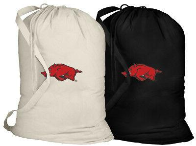 university arkansas laundry bags dirty