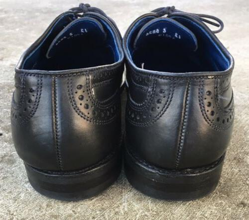 Allen Edmonds Black Leather Men's E