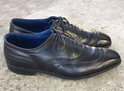 university black leather oxfords dainite soles mens