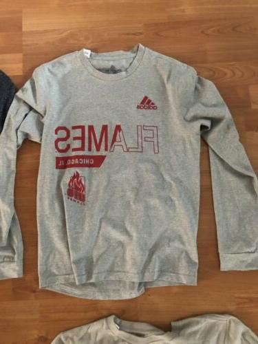University of Illinois Flames Apparel 4 Shirts Pullover.