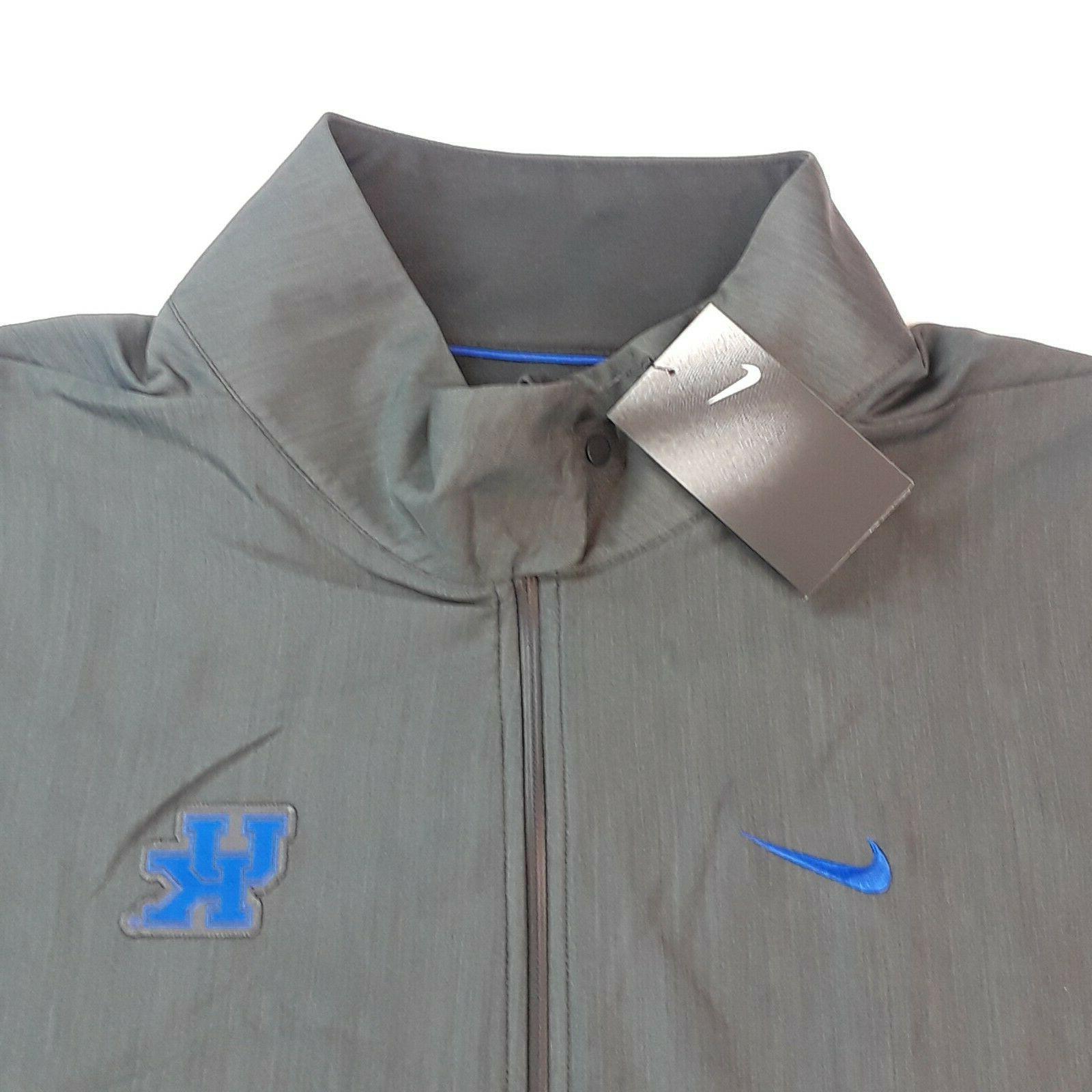 Nike University of Kentucky On Field Jacket Gray NWT