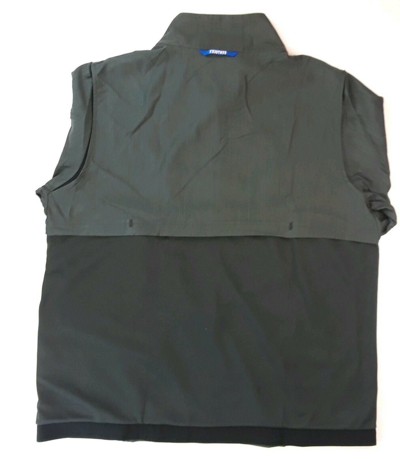 Nike University On Apparel Football Jacket Gray Size NWT