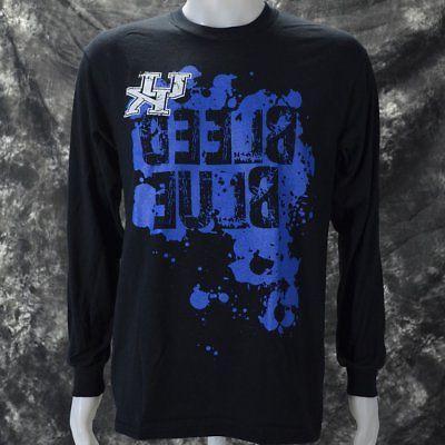 University of UK BLEED BLUE Black apparel