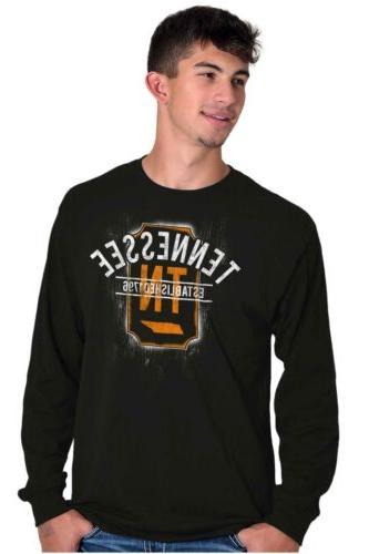 Vintage Tennessee Sports University Gift TN Sleeve Tees T-Shirts