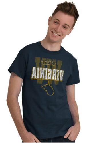West Student University Football T-Shirt Tees Tshirts