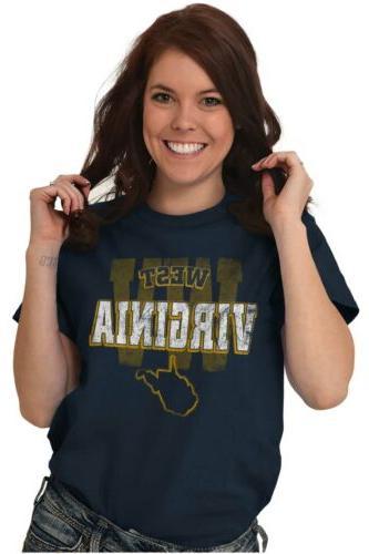 West Virginia Student University Football WV T-Shirt Tees Tshirts