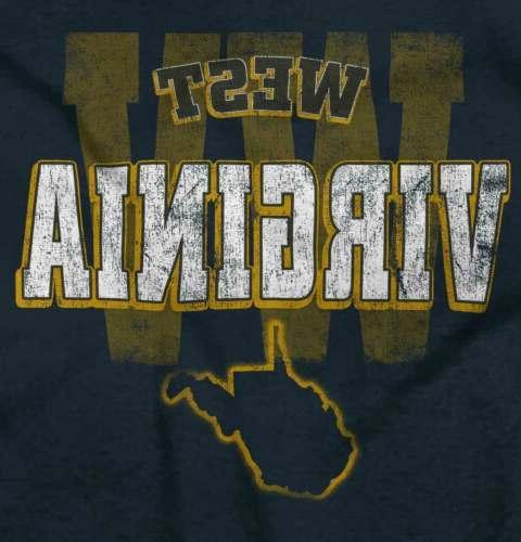 West Football WV T-Shirt Tees