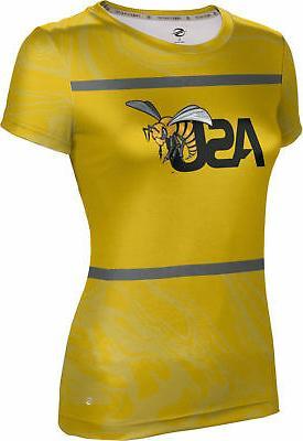 women s alabama state university ripple shirt