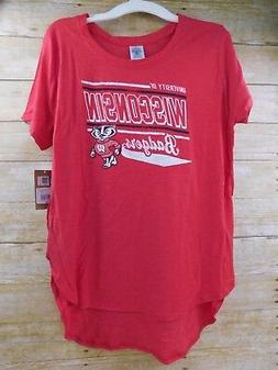 Knights Apparel Brand Ladies University Wisconsin Badgers Re
