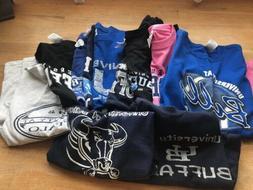 Lot Of 11 University At Buffalo Shirts/apparel
