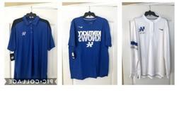 Lot of 3 University of Kentucky Men's Apparel, Shirts, New,