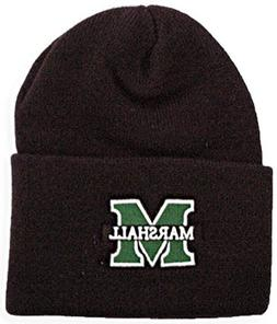 Saddle Mountain Souvenir Marshall University Black Knit Bean
