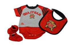 Outerstuff Maryland Terrapins Baby Clothing, University 3 Pi