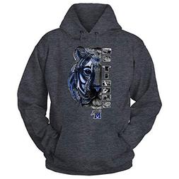 memphis tigers grey hoodie love