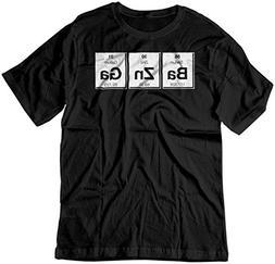BSW Men's Bazinga Periodic Table Big Bang Theory Sheldon Coo