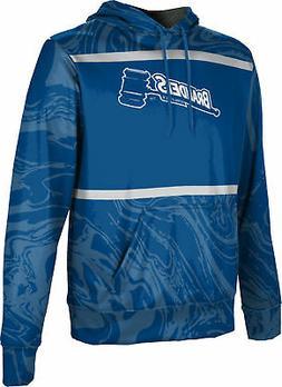 ProSphere Men's Brandeis University Ripple Hoodie Sweatshirt