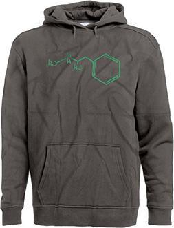 BSW Men's Methamphetamine Meth Molecule Crystal Drug Premium