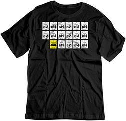 BSW Men's Na Na Na Na.Batman! 1966 Original Theme Song Shirt