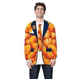 Faux Real Men's NCAA Syracuse Orange T-Shirt - Fake Suit Lon