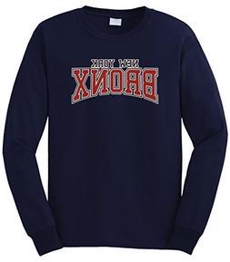 Cybertela Men's New York NY Bronx Long Sleeve T-Shirt
