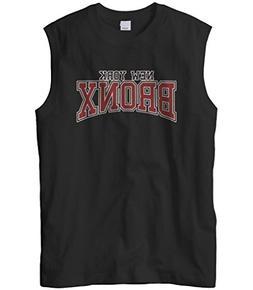 Cybertela Men's New York NY Bronx Sleeveless T-Shirt