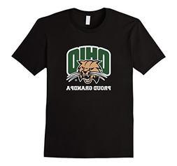Men's Proud Grandpa | Ohio University Bobcats T-shirt XL Bla