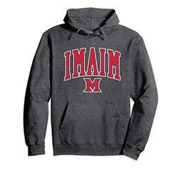 Unisex Miami University MU RedHawks NCAA Hoodie 19MU-1 Large