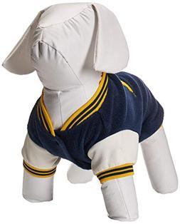 Sporty K9 Michigan Varsity Dog Jacket II, Small