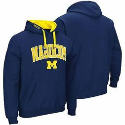 Michigan Wolverines Colosseum Arch & Logo 2.0 Pullover Hoodi