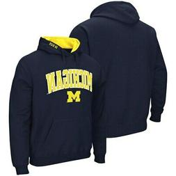 Michigan Wolverines Colosseum Arch & Logo Pullover Hoodie -